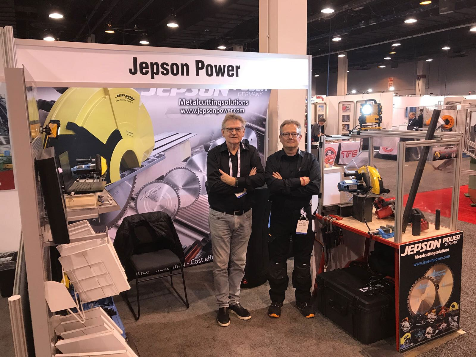 Our CEO and Product advisor  at Fabtech 2017, Chicago