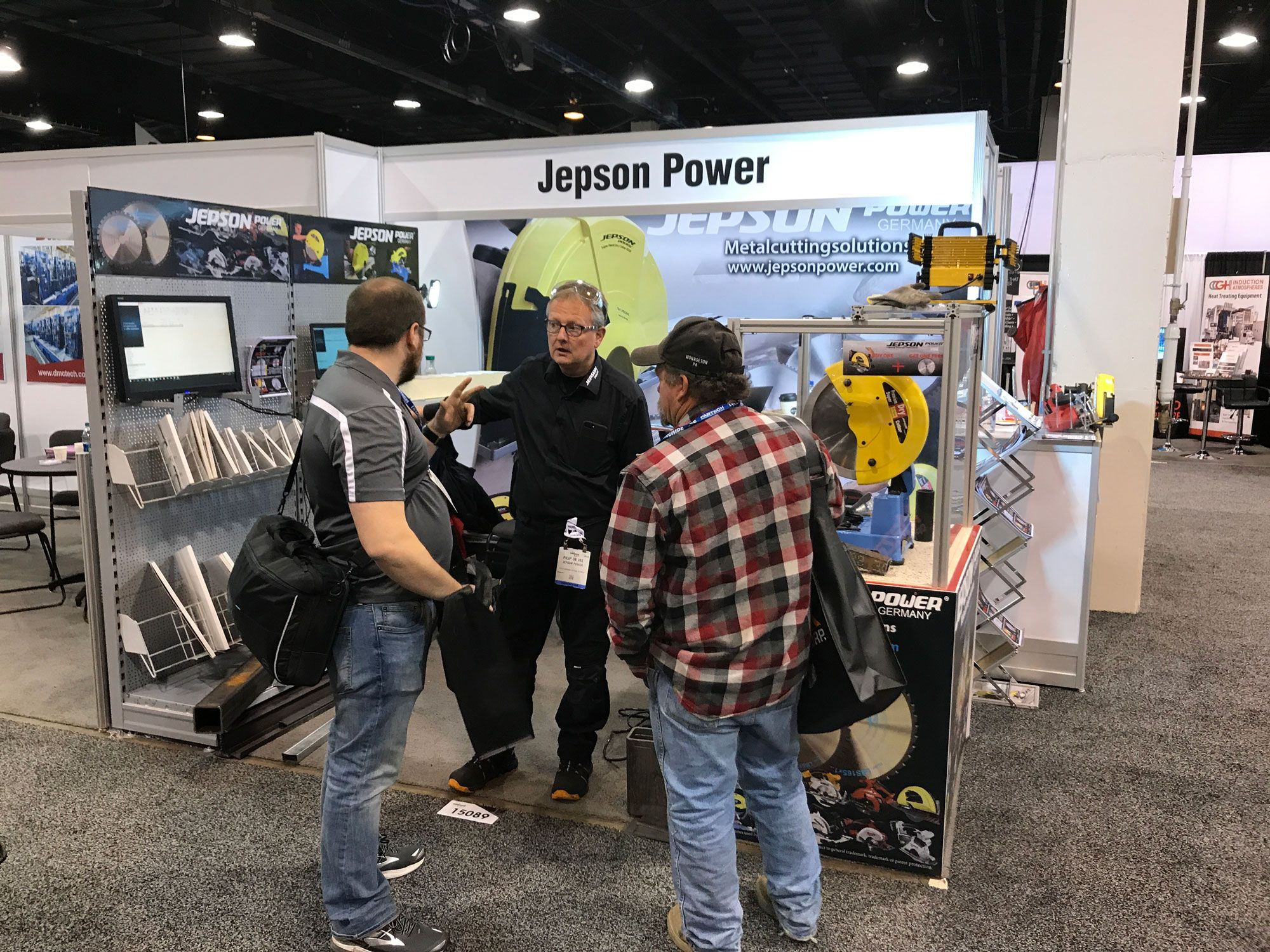 Our booth at Fabtech 2017, Chicago